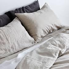grey duvet cover 100 linen duvet cover in dove grey in bed store