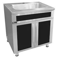 what size sink for 33 base cabinet stainless steel seamless one cabinet with integrated sink