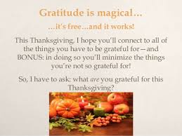 gratitude means a happy thanksgiving