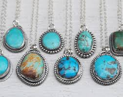 turquoise necklace silver chain images Turquoise silver necklace necklace jpg