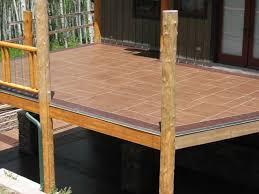 cement patio elevated waterproof concrete decking ashlar