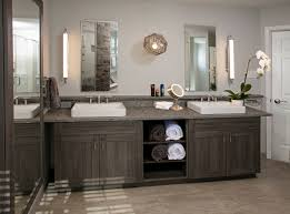 modern bathrooms designs and remodeling htrenovations modern master bathroom with a rustic twist in media pennsylvania the vanity features custom 3 dl cabinetry by bremtown pietra cardosa limestone tops
