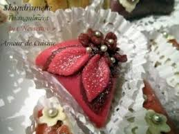 amour de cuisine gateau skandraniette en triangle aux noisettes gateau algerien 2012 par