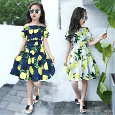 online cheap 2016 summer girls dresses casual cute dresses