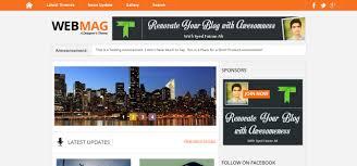free blogger templates 2016