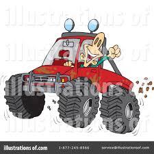 monster trucks clipart four wheeling clipart 433303 illustration by toonaday