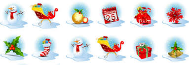 free christmas vector icons from graphic mania
