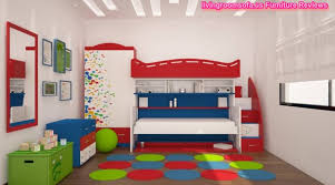 Childrens Bedroom Furniture With Storage by Classic Modern Cool Bunk Beds With Storage For Kids Bedroom
