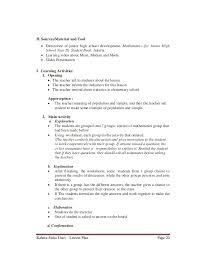lesson plan 9th grade junior high