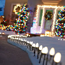 Outdoor Christmas Lights Decorations Outdoor Holiday Lighting Ideas