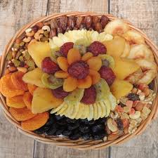 Nut Baskets Oval Fruit U0026 Nut Basket 48 Oz Dried Fruit U0026 Nut Baskets Gift