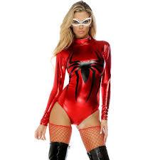 Halloween Costumes Red Spinner Spider Romper Costume N11213