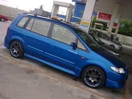 premacy car picker blue mazda premacy