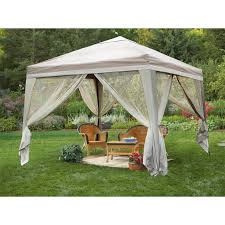 Patio Gazebo 10 X 10 by Deluxe 10x10 U0027 Backyard Gazebo 216752 Gazebos At Sportsman U0027s Guide
