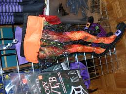 Halloween Wreath Witch Legs Decorate With Halloween Witch Legs Porter U0027s Craft U0026 Frame