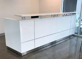 Reception Desk Ebay Hugo Plus Reception Counter Reception Desk Salon Gloss White
