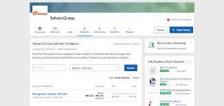 the glass door salaries sahara group salary naij com