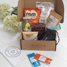 fitness gift basket gluten free nut free vegan hers notonthehighstreet