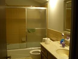 Yellow And Gray Bathroom Ideas Colors Remodelaholic Bathroom Makeover Yellow U0026 Gray Color Scheme
