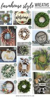 wreath for front door 14 farmhouse style wreaths that you need for your front door