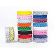 ric rac ribbon ric rac trimming by ribbons collection width 6mm length 5m