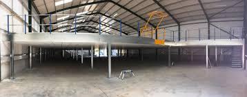 types of mezzanine floors office retail warehouse