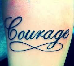 the 25 best courage tattoos ideas on pinterest tattoed heart