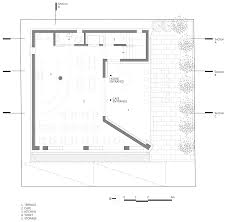 Cafe Floor Plan by Aluminium Louvres Cover Curving Walls Of House And Cafe In South