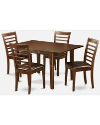 Dining Room Sets Small Spaces by Bargains On East West Furniture Milan 5 Piece Small Space