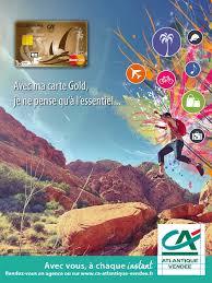 cr it agricole atlantique vend si e proposition affiche graphique carte gold crédit agricole atlantique