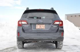 nissan rogue vs subaru outback review 2015 subaru outback 2 5i premium the truth about cars