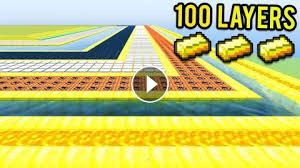 Challenge Minecraft 100 Layers Of Gold Protect The House Challenge Minecraft