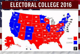 College Flag Electoral College 2016 Results