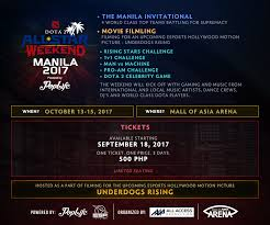 underdogs the film esports outta nowhere dota 2 all star weekend lands in manila this