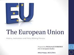 Council Of European Union History The European Union