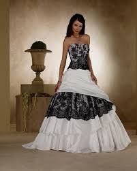 Red And White Wedding Dresses White Black And Red Wedding Dresses Naf Dresses