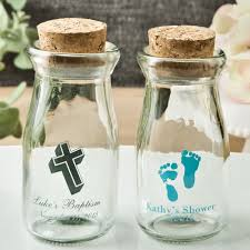 baby shower glass candy jars