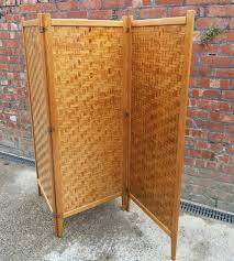 antique room divider vintage alberts tibro sweden folding wooden screen room divider