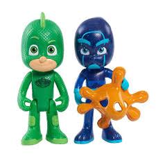 buy pj masks light figure 2 pack gecko night ninja