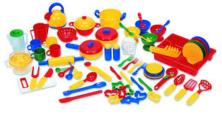 Kitchen Play Accessories - amazon com learning resources pretend u0026amp play kitchen set