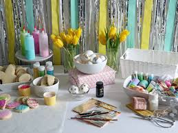 Easter Decorations Office by 15 Easter Table Setting Ideas To Try Entertaining Party Throw An