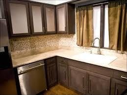 Espresso Colored Kitchen Cabinets Kitchen Grey Stained Kitchen Cabinets Brown Painted Kitchen
