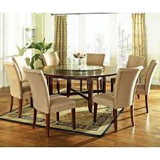 steve silver 72 round dining table 72 inch round dining table shelby knox