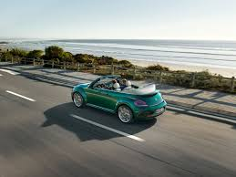 volkswagen beetle green refreshed vw beetle range ready for 2017my