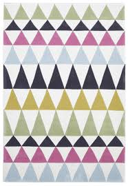Modern Design Rug Modern Bunting Design Rug Multi Green Rug Addiction