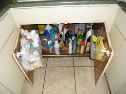 Kitchen Sink Shelves - kitchen sink storage under the sink how to build kitchen sink