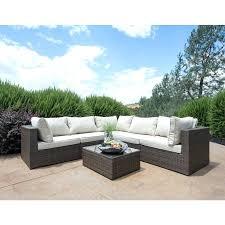 small outdoor sofa outdoor sectional sofa patio sectional sofa