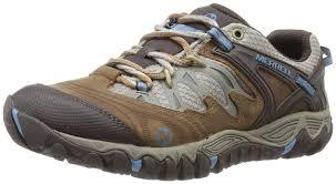 merrell allout blaze women u0027s low rise hiking shoes brown sugar