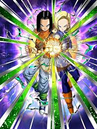 android 17 and 18 ingenious collaboration androids 17 18 z dokkan