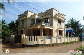 kerala home design 1600 sq feet flat roof home designs on 1600x1012 beautiful flat roof house